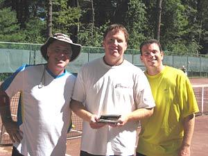 Bob DiCara, STC President Andre Aubin & Scott Zenack